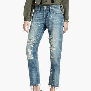 LUCKY BRAND Sienna Slim Boyfriend Distressed Jeans